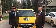 """Başkan Altepe, """"Evet Taksi"""" ile yollarda"""