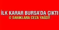 Bursada FETÖ sanıklarına 14 yıl hapis