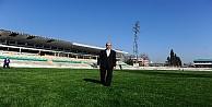 Bursanın stadyumdan dönüştürülen yeni meydanı Cumhurbaşkanını bekliyor