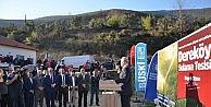 Dereköy sulama tesisi tarıma güç katacak