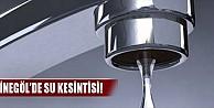İnegöl#039;de su kesintisi!