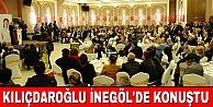 Kılıçdaroğlu İnegöl#039;de Konuştu