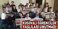 Kosovalı Öğrenciler Yaşlıları Unutmadı