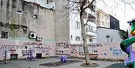 Park ve trafoların duvarları yazıdan geçilmiyor