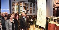 Tekstil Müzesi'nde dokuma ve gravür sergisi
