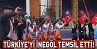 Türkiye#39;yi İnegöl temsil etti!