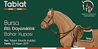 Atlı Dayanıklılık Bahar Kupası  Tabiat Binicilik Kulübünde