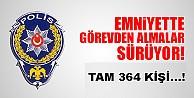 Bursa'da 364 polis açığa alındı!