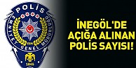 İnegöl#039;de açığa alınan polis sayısı