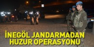 İnegöl Jandarmadan Huzur Operasyonu