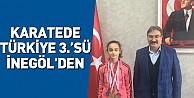 Karatede Türkiye 3.#39;sü İnegöl#39;den