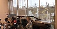 Otomobil fabrikasında jandarmaya uygulamalı eğitim