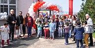 Samanlı Engelliler Okulu'na oyun parkı
