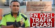 Şehit Polis Fethi Sekin'in ceza makbuzu duygulandırdı