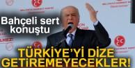 Bahçeli: 'Ne PKK, ne FETÖ, ne de bir başka muhasım odak Türkiye'yi dize getiremeyecektir'