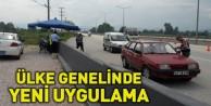 Emniyet ve Jandarma#039;dan #039;Trafik Güvenliği Uygulaması#039;