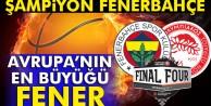 Fenerbahçe Avrupa şampiyonu