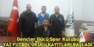 Gençler Gücü Spor Kulübü Yaz Futbol Okulu Kayıtları Başladı