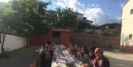 Öğretmenler pişirdi, öğrenciler yedi