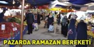 Pazarda Ramazan Bereketi