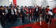 Sumocu robotlar Bursa'da yarıştı