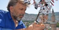 Tarihi Ulucamiye mahyalar asılıyor