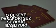 Ukrayna'ya pasaportsuz seyahat başlıyor
