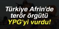 #039;Afrindeki YPG mevzileri vuruldu#039;