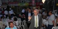 Altepe, Mustafakemalpaşa'da orucunu vatandaşlarla açtı