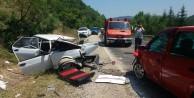 Bursa'da hatalı sollama dehşeti: 10 yaralı