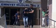 Bursa'da hava destekli narkotik operasyonu helikopter kamerasında...