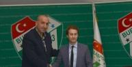 Bursaspor Şemsettin Baş ile sözleşme uzattı