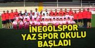 İnegölspor Yaz Futbol Okulu Başladı