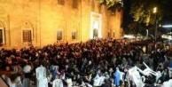 Kadir Gecesinde Bursalılar Ulu Camiyi doldurdu