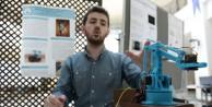(Özel Haber) Üniversite öğrencisi, eldivenle kontrol edilebilen bomba imha aracı geliştirdi