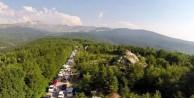 Uludağa Ramazan Bayramında 100 bin ziyaretçi