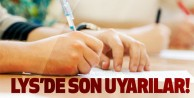 Uzmanlardan LYS öncesi öğrenci ve ailelere uyarılar