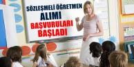 20 Bin Sözleşmeli Öğretmen Atama Başvuruları Başladı