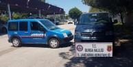 30 bin liralık kablo hırsızları Jandarma tarafından yakalandı