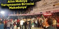 Altın Mobilya Halk Dansları Yarışmasının Birincisi Makedonya