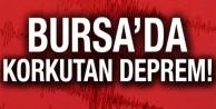 Bursa#039;da 3.6 büyüklüğünde deprem