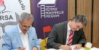 Bursagazdan milli eğitimin mükemmellik yolculuğuna destek