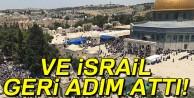 İsrail, Mescid-i Aksa girişindeki dedektörleri kaldırdı