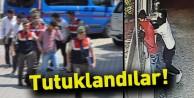 Jandarma Market Hırsızlarını Yakaladı