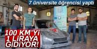 KTÜ#039;lü öğrenciler kilometrede 1 kuruş yakan hibrit araç geliştirdi