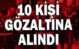 Bursa merkezli FETÖ/PDY operasyonu! 10 kişi gözaltına alındı