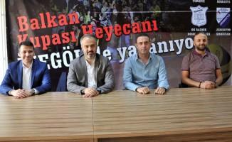 İnegöl'de Balkan Kupası Heyecanı