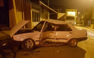 Tabakhane Caddesinde  Kaza: 2 Yaralı