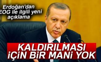 Cumhurbaşkanı Erdoğan: 'TEOG'un kaldırılması için bir mani yok'