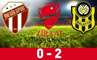 İnegölspor: 0 - Yeni Malatyaspor: 2